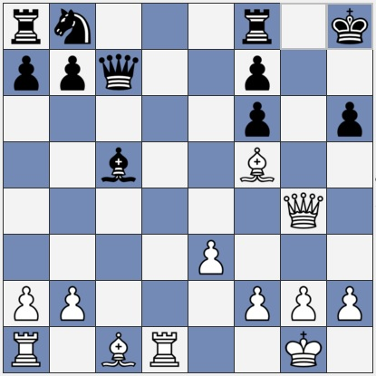 White to move - winning attack on the kingside